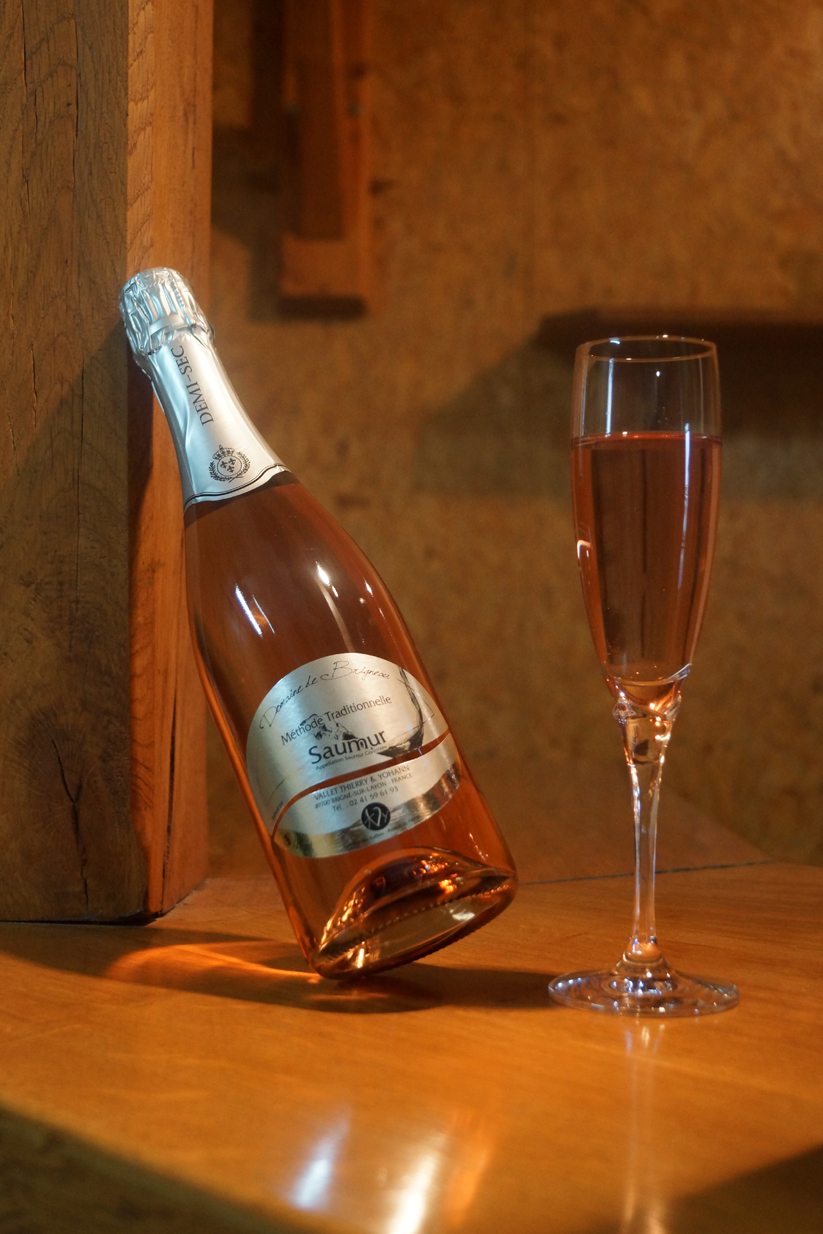 Méthode Traditionnelle rosé demi-sec